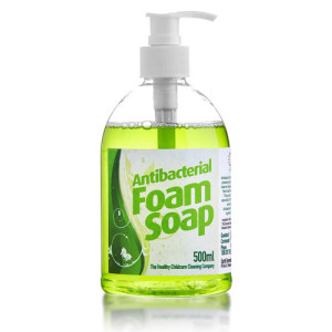 a mild biodegradable hand soap.