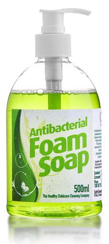 a mild biodegradable hand soap.