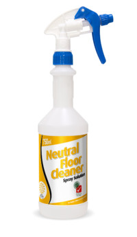 Neutral Floor Spray Bottle for ready to use product