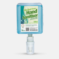 Alcohol Free hand sanitiser, childcare, green clean,