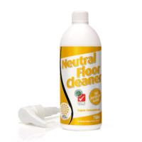 "Neutral Floor Cleaner Super Concentrate ingredients meets the ""warm soapy water"" solution"