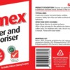 Germex spray bottle labels